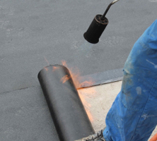 flat and rubber roofing services