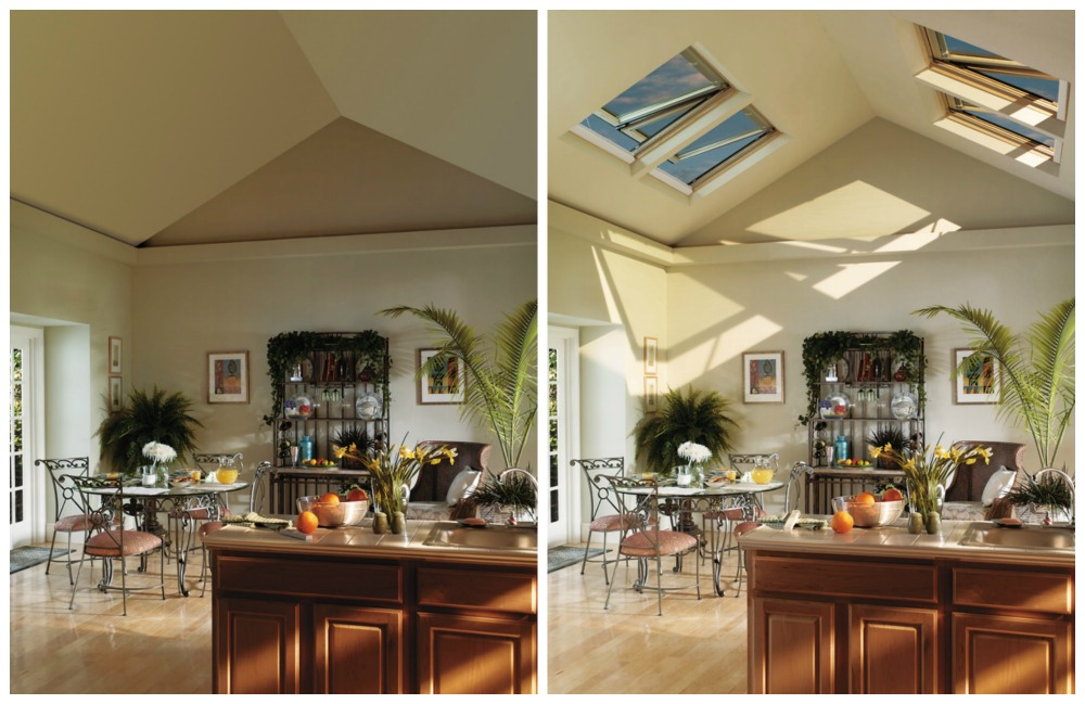 Kitchen and Skylights